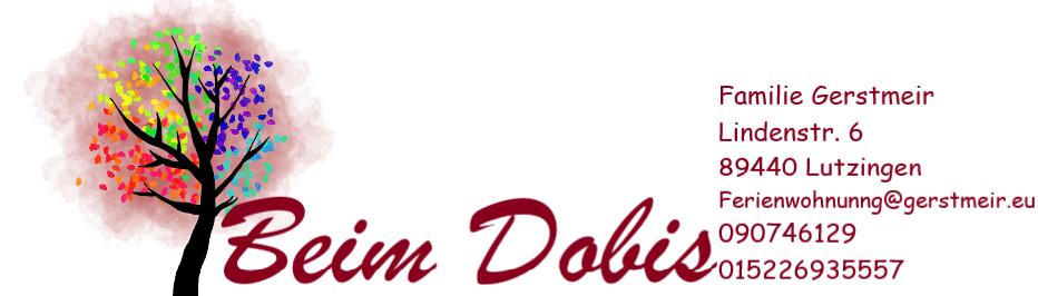 Beim Dobis Logo 2020 weiß