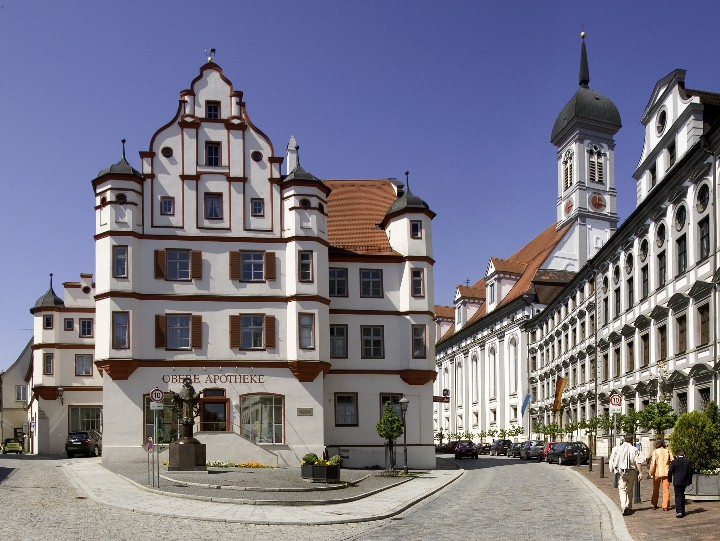 Dillingen a.d. Donau Königstraße in der Innenstadt