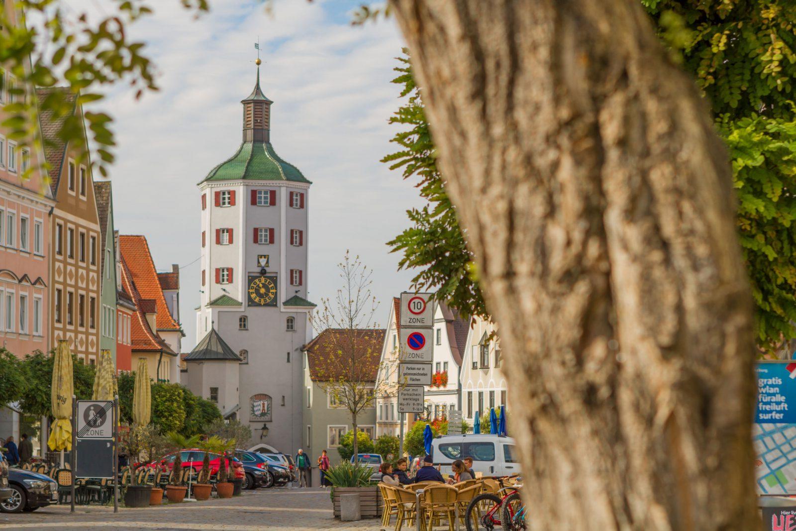 Günzburg Stadtturm Röger