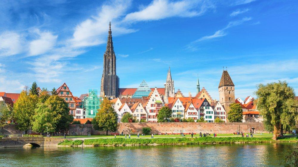 Ulm mit Ulmer Münster